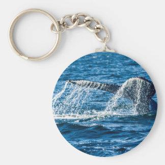 Humpback Whale Washington State Key Ring