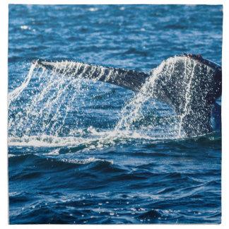 Humpback Whale Washington State Napkin