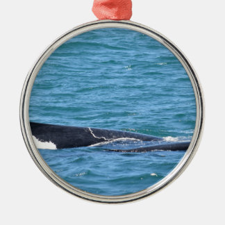HUMPBACK WHALES MACKAY QUEENSLAND AUSTRALIA METAL ORNAMENT