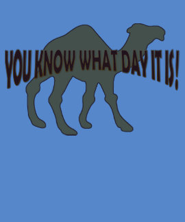 HUMPDAY HUMP DAY CAMEL T-SHIRT