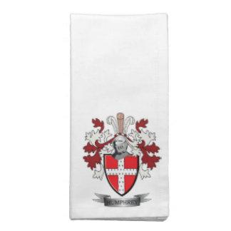 Humphrey Family Crest Coat of Arms Napkin