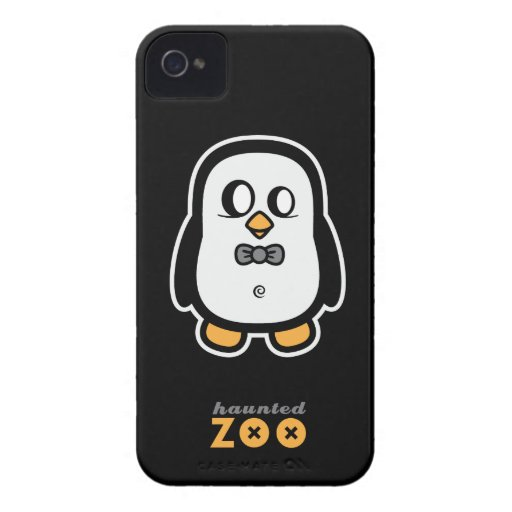 Humphrey the Penguin by Haunted Zoo BlackberryBold Blackberry Cases