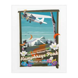 Humphreys Peak,Humphreys Peak,Flagstaff,Arizona Acrylic Wall Art