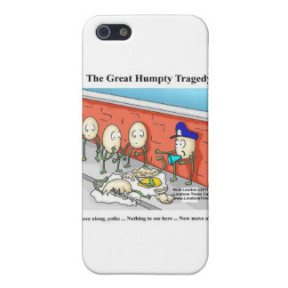 Humpty After The Fall Funny Cards & Gifts Case For iPhone 5/5S