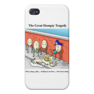 Humpty After The Fall Funny Cards & Gifts iPhone 4 Covers