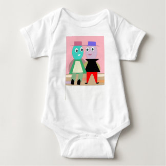 humpty couples baby bodysuit