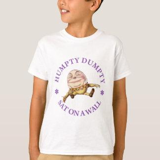 HUMPTY DUMPTY AT ON A WALL T-Shirt