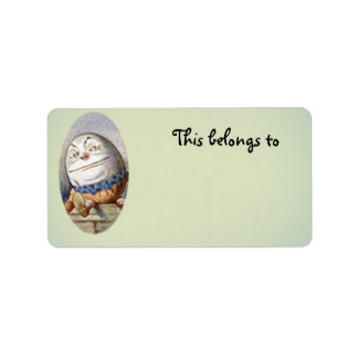 Humpty Dumpty belongs to Label