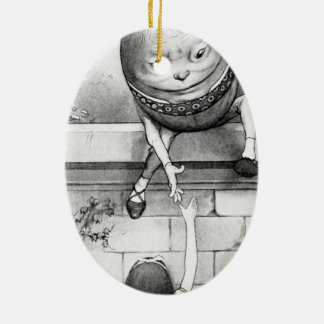 Humpty Dumpty Ceramic Ornament