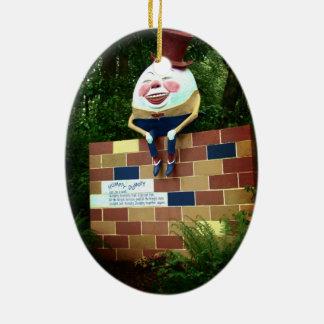 Humpty Dumpty Ceramic Ornament