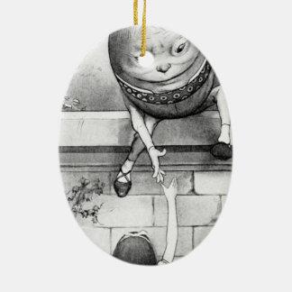 Humpty Dumpty Ceramic Oval Decoration