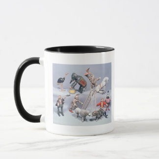 Humpty Dumpty Circus acrobats and menagerie Mug