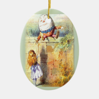 Humpty Dumpty First Christmas Ceramic Ornament