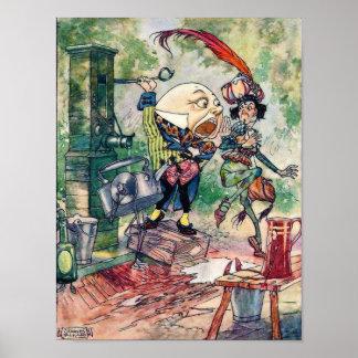 Humpty Dumpty in Wonderland Poster
