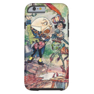 Humpty Dumpty in Wonderland Tough iPhone 6 Case