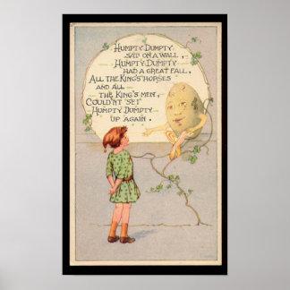 Humpty Dumpty Nursery Rhyme Posters