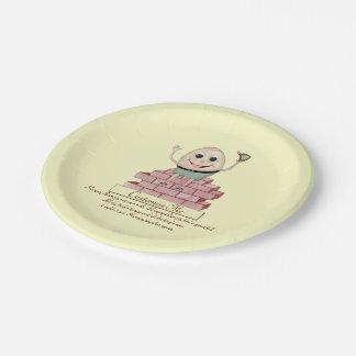 Humpty Dumpty Paper Plate