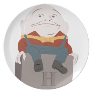 Humpty Dumpty Party Plate