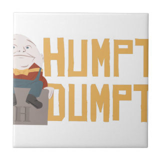 Humpty Dumpty Small Square Tile