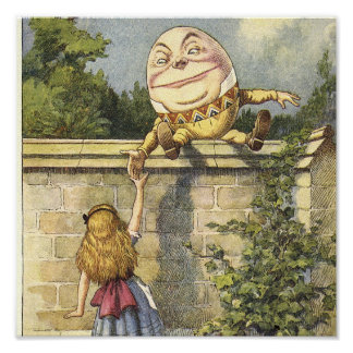 HumptyDumpty Canvas Art Poster