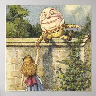 HumptyDumpty Canvas Art Poster