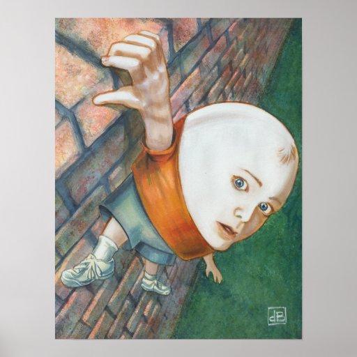 Humpty's Predicament Poster