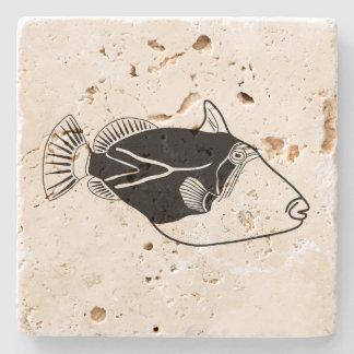 Humuhumunukunukuapua'a Stone Coaster
