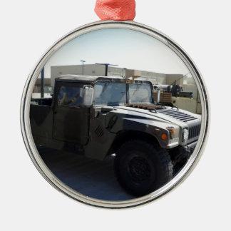 Humvee Camo Green Destiny Gifts Metal Ornament