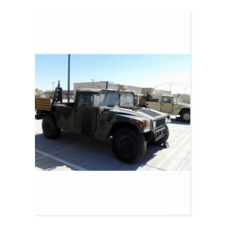 Humvee Camo Green Destiny Gifts Postcard