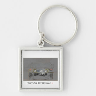 Humvee Colored Pencil Products Key Ring