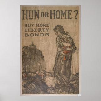 Hun or Home? Poster