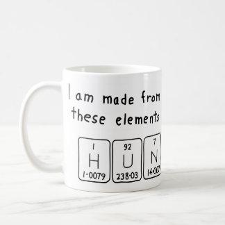 Hun periodic table name mug