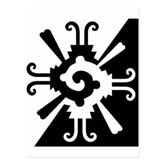 Hunab Ku-Black and White Post Card