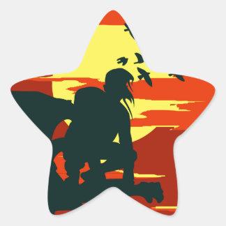 hunchback of notre dame star sticker