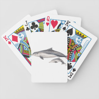 Hunchbacked dolphin of Australia Bicycle Playing Cards