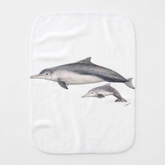 Hunchbacked dolphin of Australia Burp Cloth