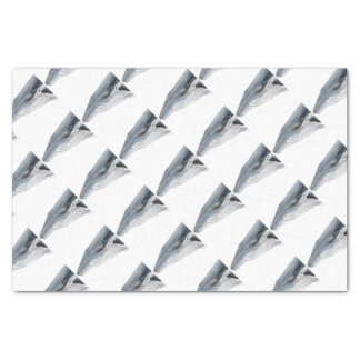 Hunchbacked whale - yubarta - picture tissue paper
