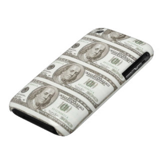 Hundred Dollar Bills on Barely There iPhone4 case. iPhone 3 Case-Mate Case