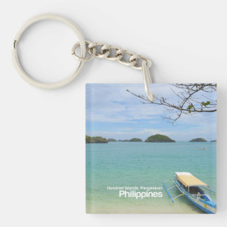 Hundred Islands, Pangasinan Philippines Keychain