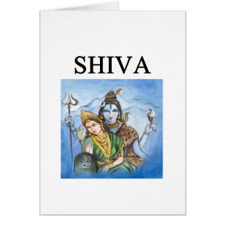 hundu shiva design card