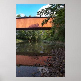 Hune Covered Bridge, Ohio Poster