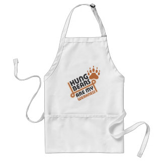 Hung bears are my weakness aprons