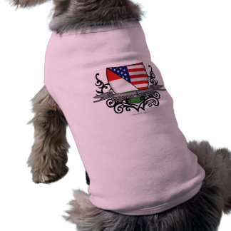 Hungarian-American Shield Flag Dog Clothes