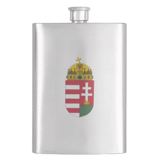 Hungarian coat of arms flask