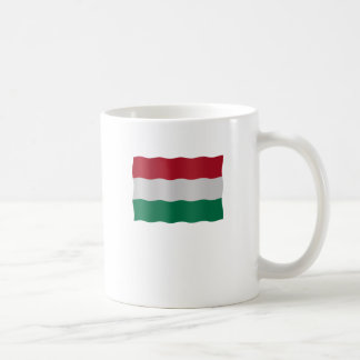 Hungarian flag coffee mug