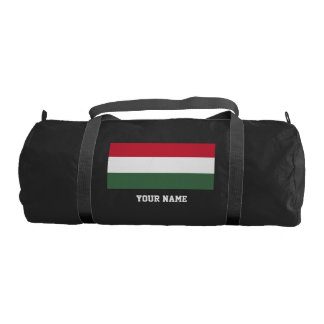 Hungarian flag gym bag