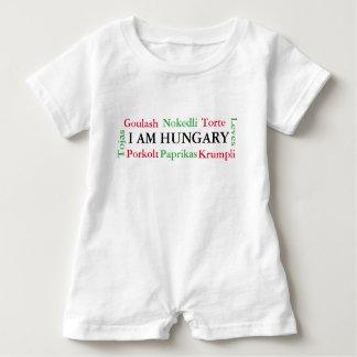 Hungarian Foods Baby Bodysuit