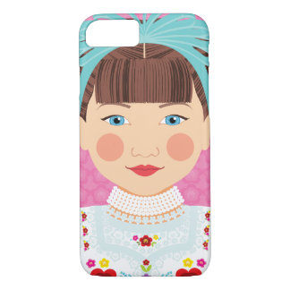 Hungarian Girl Matryoshka Case