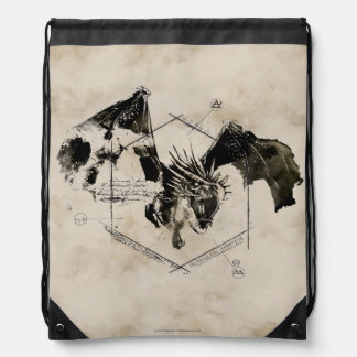 Hungarian Horntail Dragon Backpack
