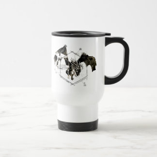 Hungarian Horntail Dragon Stainless Steel Travel Mug